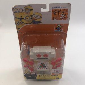 New Despicable Me 3 Build A Bot Clive Figure Rare